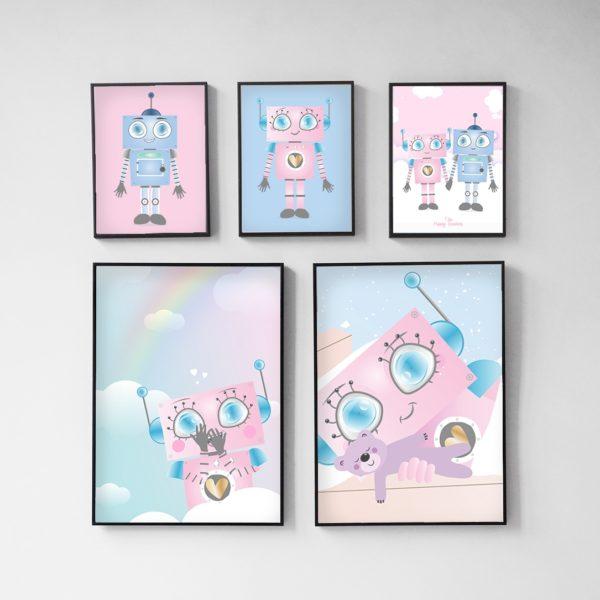 The Happy Robots