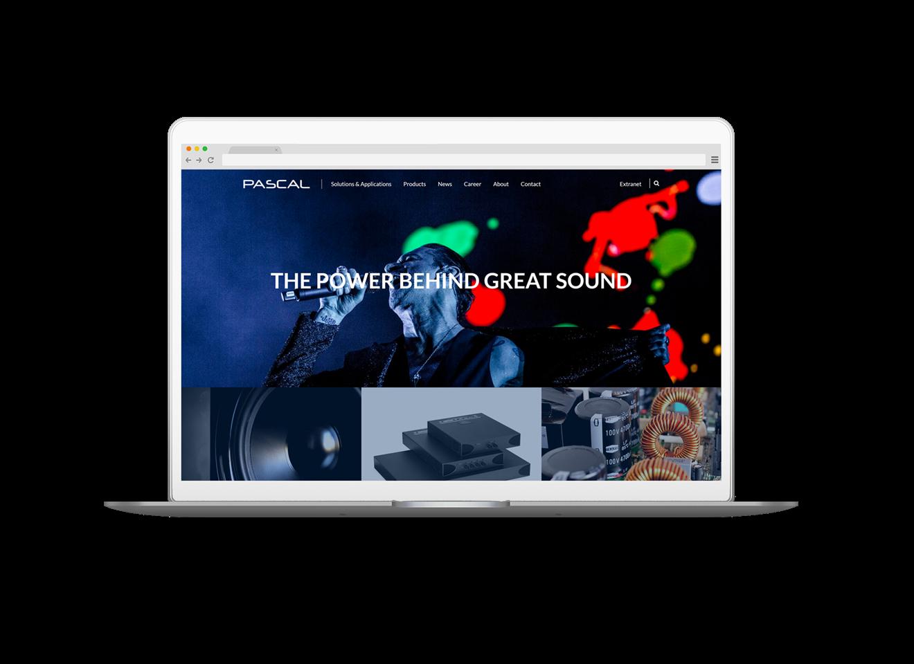 PASCAL webdesign
